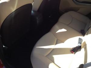 2013 Hyundai Elantra Back Seat