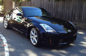 2006 Nissan 350Z Right Side Exterior Detail - Onsite Auto Detailing - Car Wash
